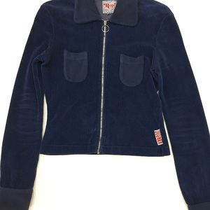 Replay Girl's Line Corduroy Cardigan L NWOT